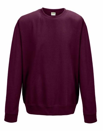 Herren-/Unisex-Sweater mit Schullogo-Druck auf dem Rücken